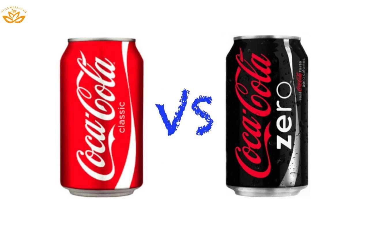 تفاوت میان نوشابه کوکاکولا زیرو و معمولی