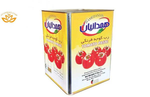 رب گوجه فرنگی همدانیان حلب 17 کیلوگرمی