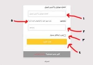 ورود به حساب کاربری اوان مال