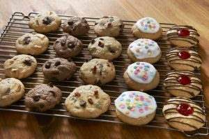 پخت شیرینی