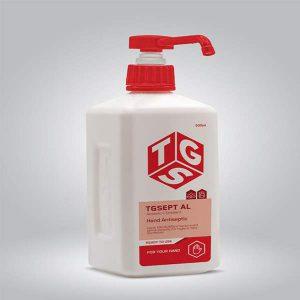 محلول ضدعفونی کننده cc500 TGS در کارتن 16 عددی