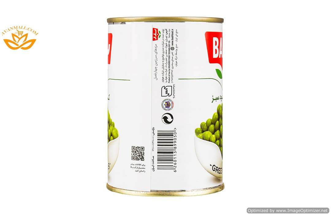 کنسرو نخود فرنگی 430 گرمی بدر در کارتن 12 عددی05