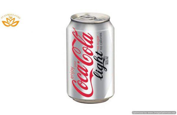 نوشابه کوکاکولا رژیمی 330 میلی لیتری در بسته بندی 24 عددی