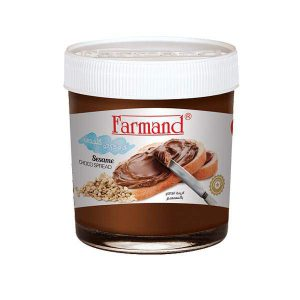 شکلات صبحانه 200 گرمی کنجدی فرمند در کارتن 24 عددی