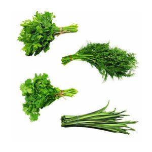 سبزی پلو تازه در دسته 5 کیلوگرمی