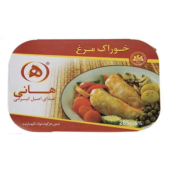 عکس شاخص،خوراک مرغ 285 گرمی هانی در کارتن 32 عددی