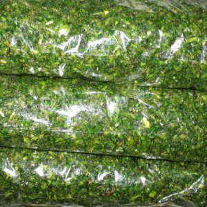 سبزی کوکو خرد شده آماده مصرف در بسته 10 کیلوگرمی