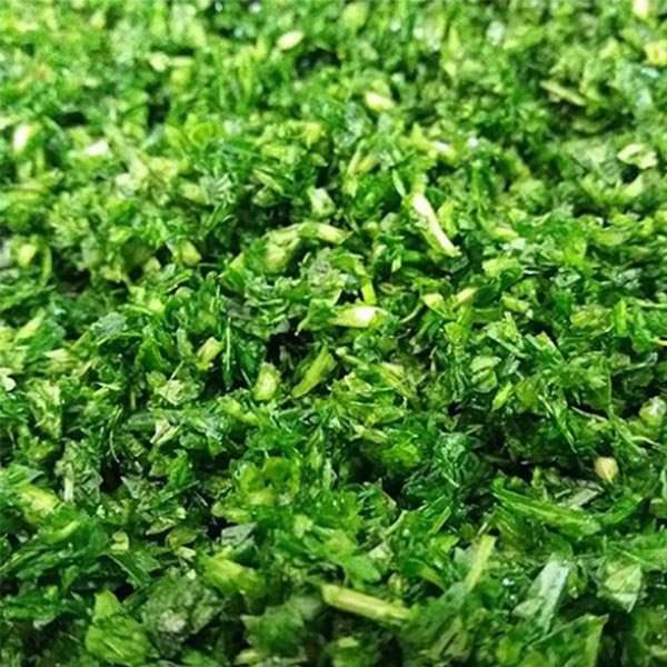 عکس شاخص،سبزی کوکو خرد شده آماده مصرف در بسته 5 کیلوگرمی