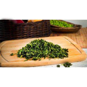 سبزی آش خرد شده آماده مصرف در بسته 10 کیلوگرمی