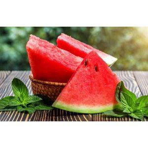 هندوانه آبگیری در سبد 10 کیلوگرمی