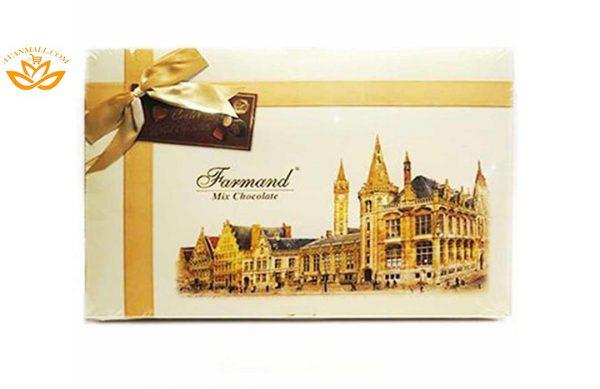 شکلات کادوئی لوکس 214 گرمی طرح لندن در کارتن 5 عددی