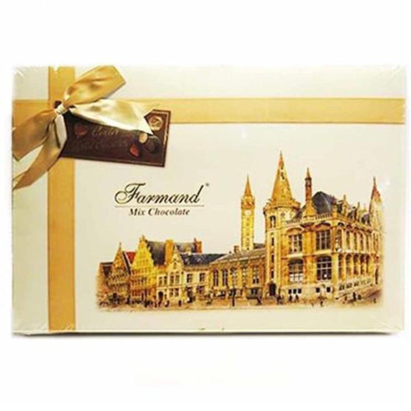 عکس شاخص شکلات کادوئی لوکس 214 گرمی طرح لندن در کارتن 5 عددی