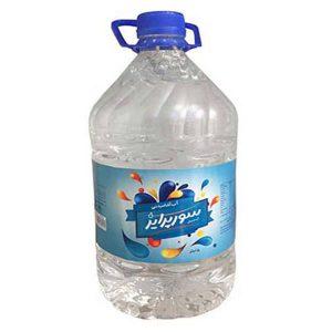 عکس شاخص آب معدنی 5 لیتری سورپرایز