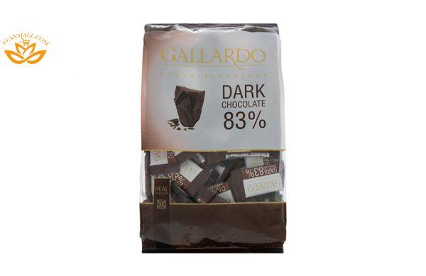 شکلات تلخ 83 درصد گاردو 330 گرمی فرمند در کارتن 4 عددی