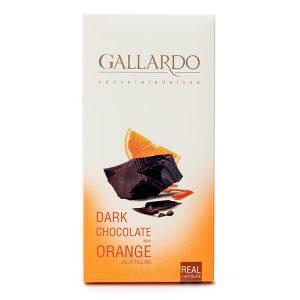 شکلات تلخ با مغز پرتقال تابلت گالارد 100 گرمی فرمند در 12 جعبه 6 عددی