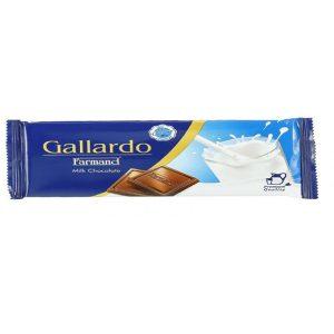 شکلات شیری تابلت گالارد 25 گرمی فرمند در 6 جعبه 24 عددی
