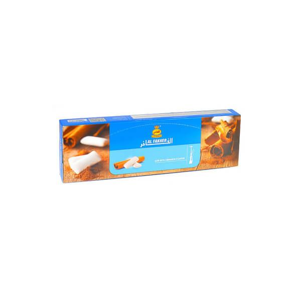 عکس شاخص تنباکو آدامس دارچین 50 گرمی الفاخر در باکس 10 عددی
