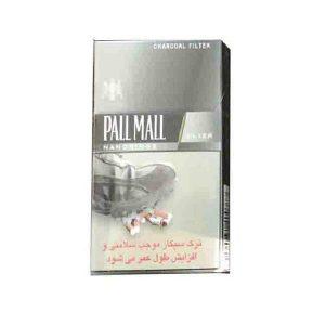 عکس شاخص،سیگار پال مال نقره ای در بسته 10 عددی