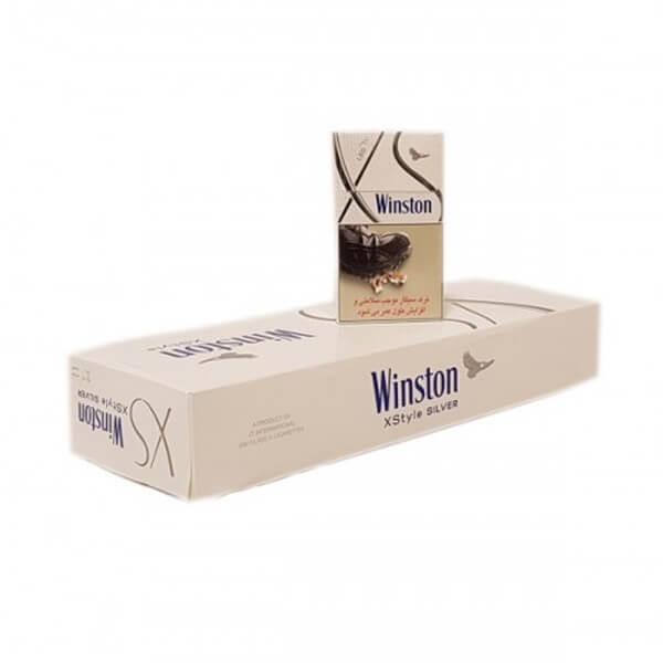 عکس شاخص،سیگار وینستون لایت الترا اسلیم بسته 10 عددی