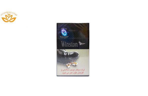 سیگار وینستون دبل میکس مشکی بسته 10 عددی