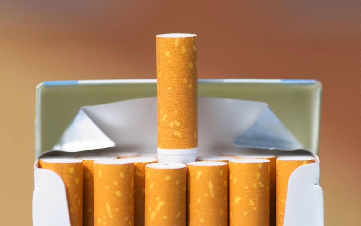 سیگار وینستون الترا پایه بلند بسته 10 عددی