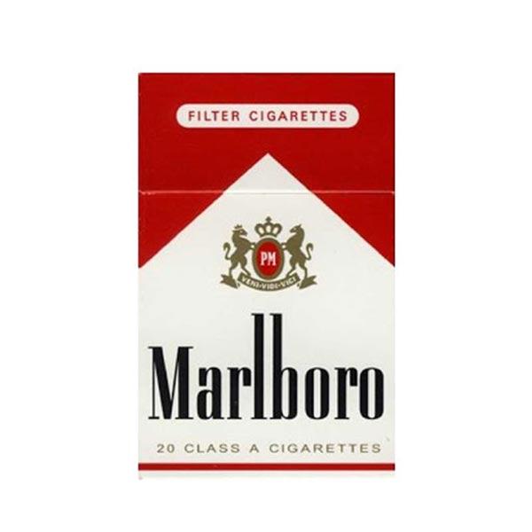 عکس شاخص،سیگار مارلبرو قرمز مدیوم در بسته 10 عددی