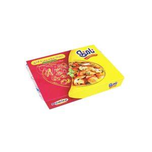 خوراک سوسیس و قارچ 200 گرمی نامی نو در کارتن 30 عددی
