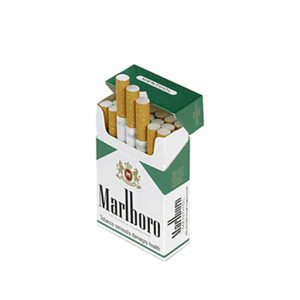سیگار مارلبرو منتول در بسته 10 عددی