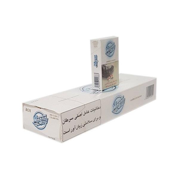 عکس شاخص،سیگار مگنا الترا سفید در بسته 10 عددی