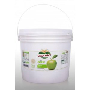 مربا سیب کشت چین در سطل 5 کیلوگرمی