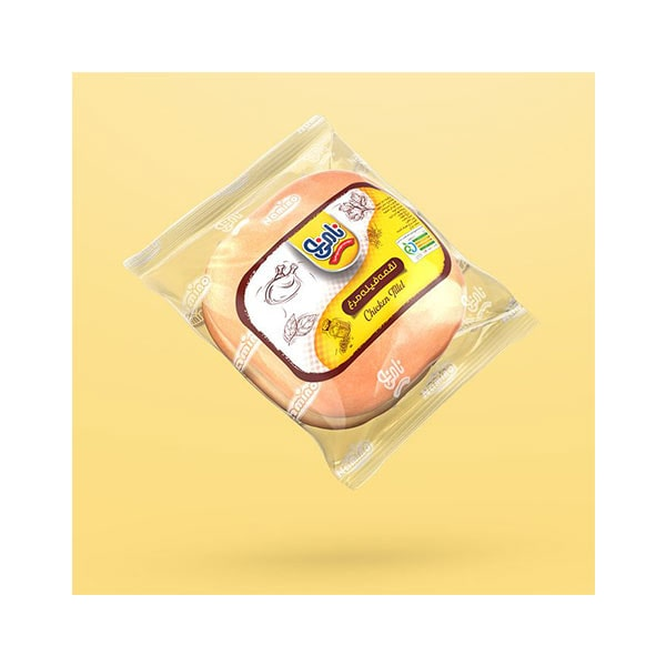 عکس شاخص،ساندویچ لقمه فیله مرغ و پنیر نامی نو در کارتن 16 عددی