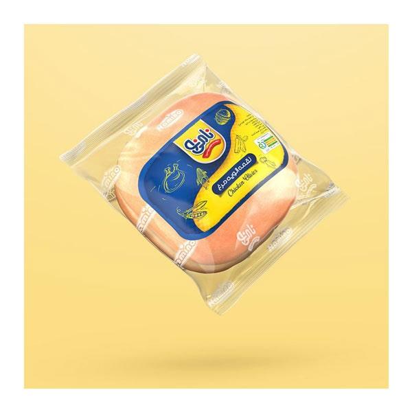 عکس شاخص،ساندویچ لقمه الویه مرغ نامی نو در کارتن 16 عددی
