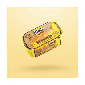 عکس شاخص،ساندویچ نیم باگت پنیر و گردو نامی نو در کارتن 24 عددی