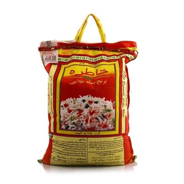 عکس شاخص،برنج هندی خاطره در کیسه 10 کیلویی