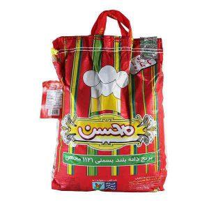 عکس شاخص،برنج هندی محسن در کیسه 10 کیلویی