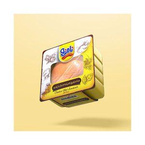 ساندویچ مک فیله مرغ و پنیر نامی نو در کارتن 16 عددی