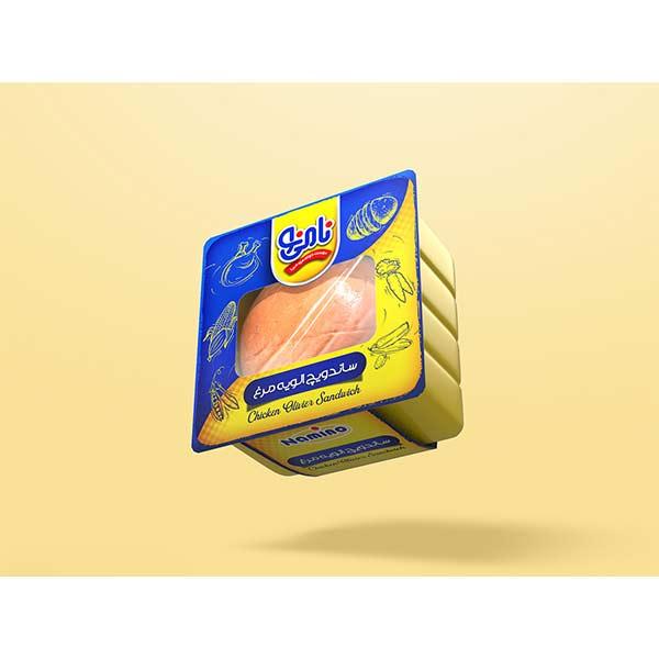 عکس شاخص،ساندویچ مک الویه مرغ نامی نو در کارتن 16 عددی