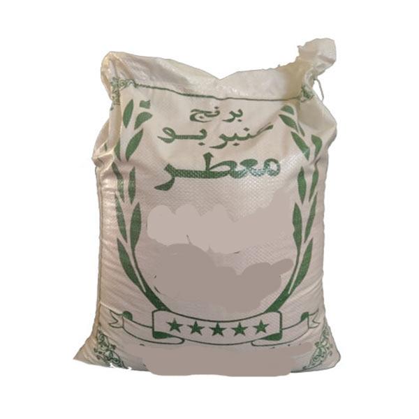 عکس شاخص،برنج عنبر بو اعلا در جه یک در کیسه 10 کیلویی