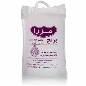 عکس شاخص برنج هاشمی ممتاز معطر در کیسه 10 کیلویی