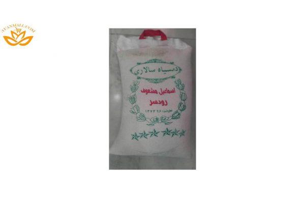 برنج دم سیاه سالاری در کیسه 10 کیلویی
