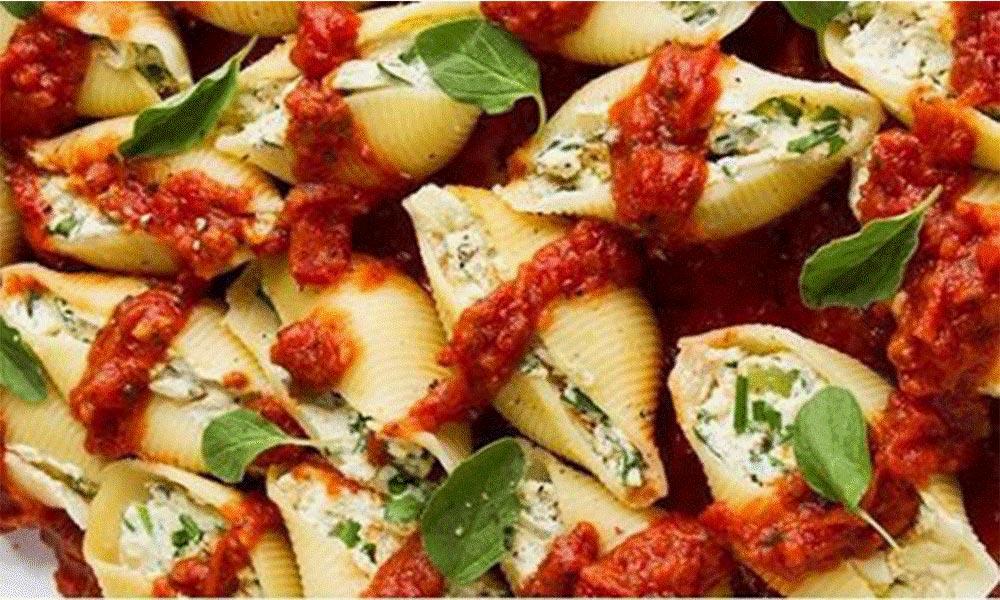 پاستا جامبو شلز سبزیجات زر ماکارون در 8 جعبه 500 گرمی