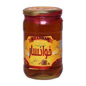 عکس شاخص،عسل شیشه ای 900 گرمی خوانسار در باکس 6 عددی