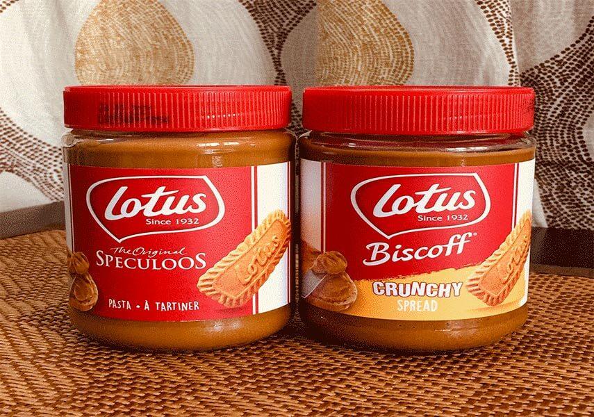 بیسکوئیت biscoff 400 گرمی لوتوس (بلژیک)