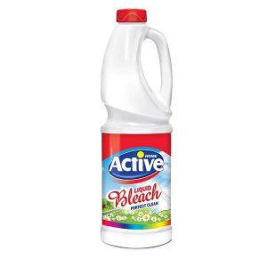 مایع سفیدکننده معمولی 1 لیتری اکتیو در کارتن 12 عددی