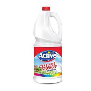 مایع سفیدکننده معمولی 4 لیتری اکتیو در کارتن 4 عددی