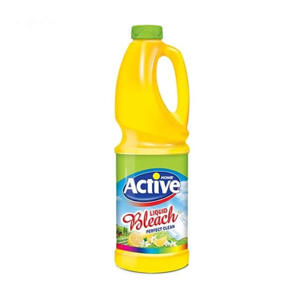 عکس شاخص-مایع سفیدکننده لیمویی زرد 1 لیتری اکتیو در کارتن 12 عددی