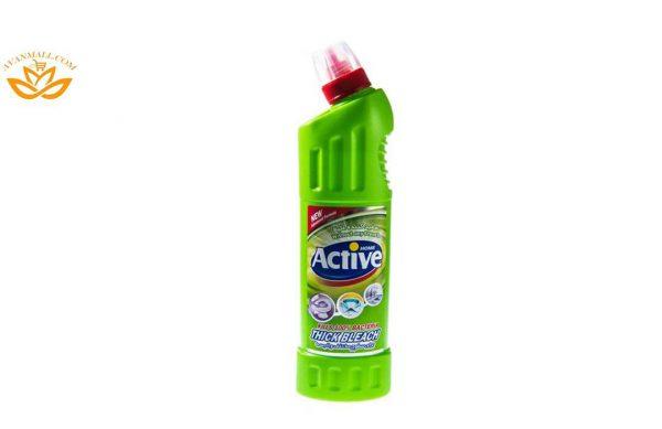 مایع سفیدکننده غلیظ سبز 750 گرمی اکتیو در کارتن 12 عددی