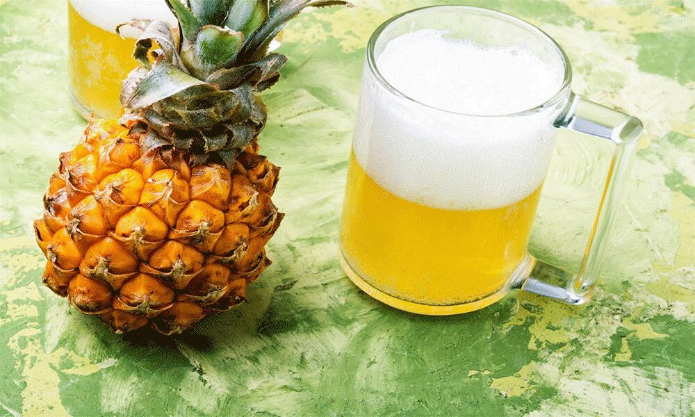 دلستر پت شیشهای 320 میلیلیتری ایستک با طعم آناناس در بسته بندی 12 عددی