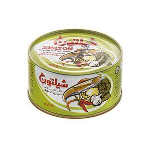 عکس شاخص کنسرو تن ماهی با سبزیجات 180 گرمی شیلتون در بسته 5 عددی