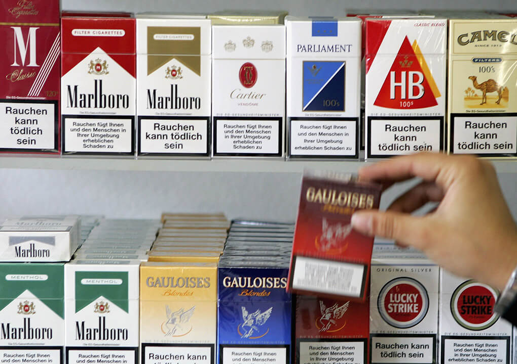خرید و فروش عمده سیگار خارجی در تهران